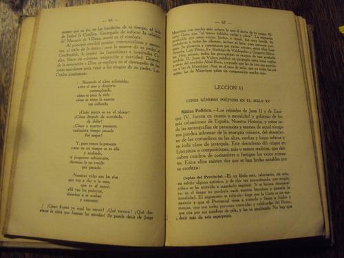 historia de la literatura española y universal alberto risco