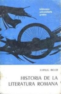 historia de la literatura romana(libro )