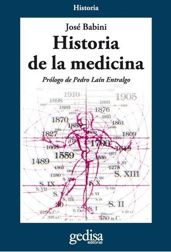 historia de la medicina, babini, ed. gedisa