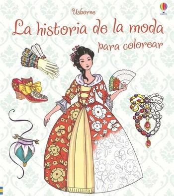 historia de la moda para colorear (envíos)