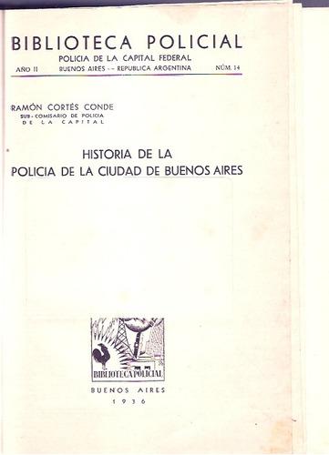 historia de la policia de buenos aires  cortes conde tomo 2