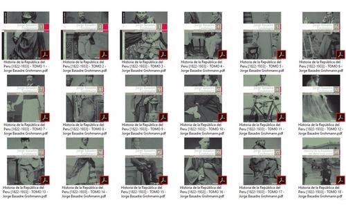 historia de la republica del peru,jorge basadre (18 pdf)