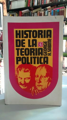 historia de la teoría política.