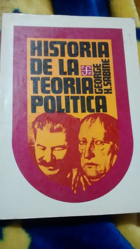 historia de la teoría política george sabine libro