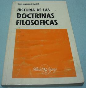 Libro Historia De Las Doctrinas Filosoficas Pedro Chavez Calderon Download