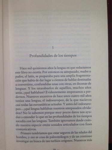 historia de las lenguas hispánicas. del moral. lingüística.