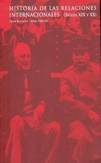 historia de las relaciones internacionales, renouvin, akal