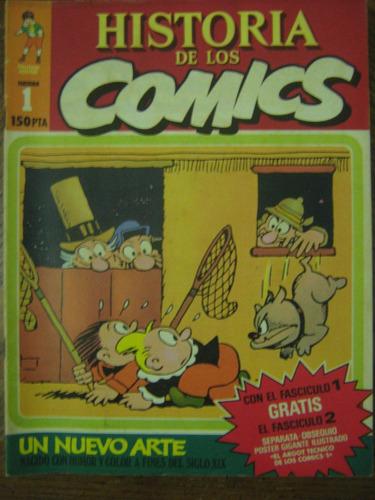 historia de los comics, fasc 1, un nuevo arte