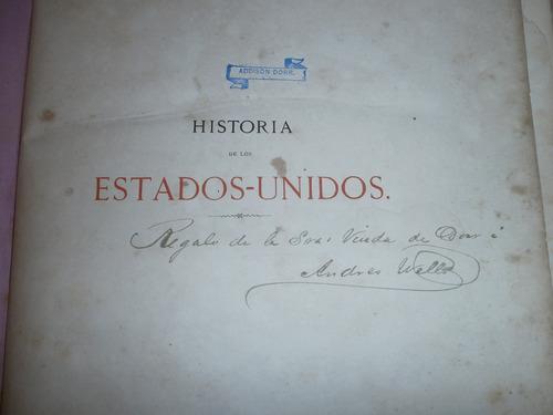 historia de los estados unidos j a spencer 1868 1870 3 tomos