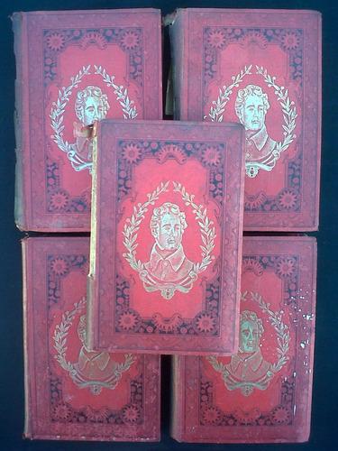 historia de los girondinos, a. de lamartine (varios tomos)