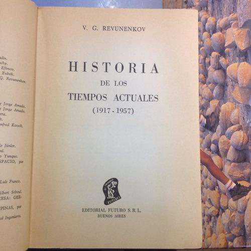 historia de los tiempos (1927-1957). v. g. revunenkov.