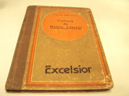 historia de manon lescaut, abate prevost, excelsior