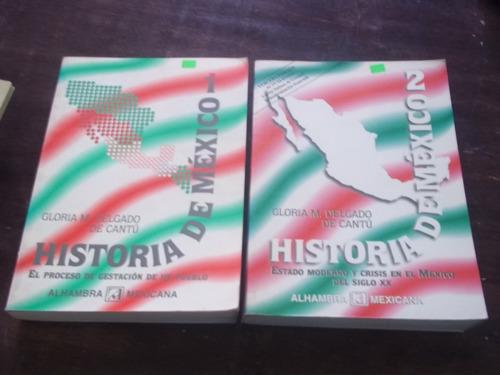 historia de mexico ,2 tomos