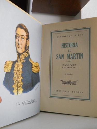 historia de san martin - bartolome mitre.