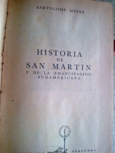 historia de san martin y la emancipacion sudamericana