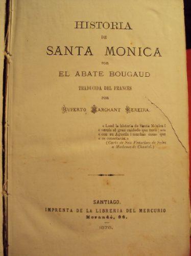 historia de santa monica, el abate bougaud, 1876