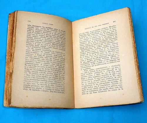 historia de una vida terrible basilio tozer oriente 1931