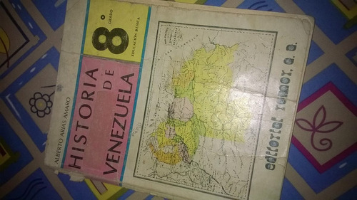 historia de venezuela. edit. romor. 8vo año. usado