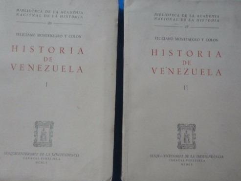 historia de venezuela feliciano montenegro pb 157