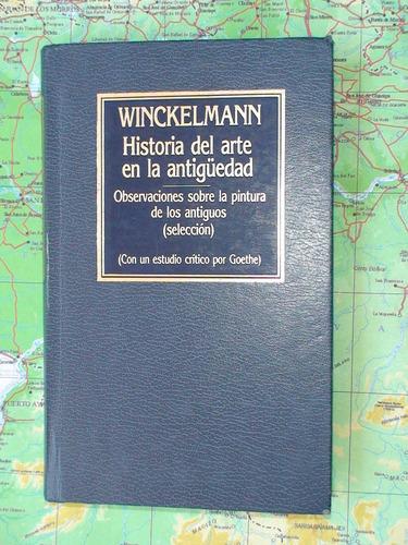 historia del arte en la antiguedad - winckelmann