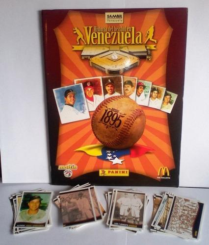 historia del beisbol en venezuela barajitas venta y/o cambio