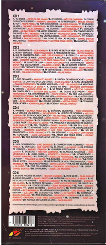 historia del bolero joyas musicales  6 cd