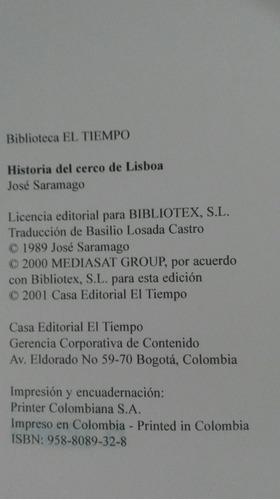 historia del cerco de lisboa jose saramago jb23
