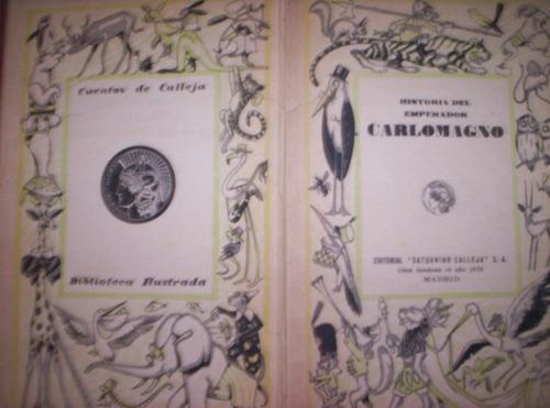historia del emperador carlomagno ilustrada para niños