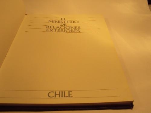 historia del l ministerio de relaciones exteriores chile