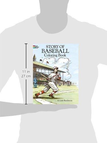 Historia Del Libro De Colorear De Béisbol - $ 477.77 en Mercado Libre