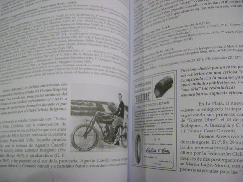 historia del motociclismo argentino - nery varona