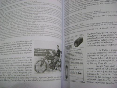 historia del motociclismo argentino - rené heidegger