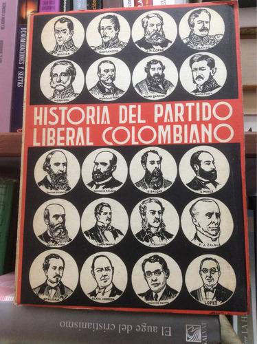 historia del partido liberal colombiano