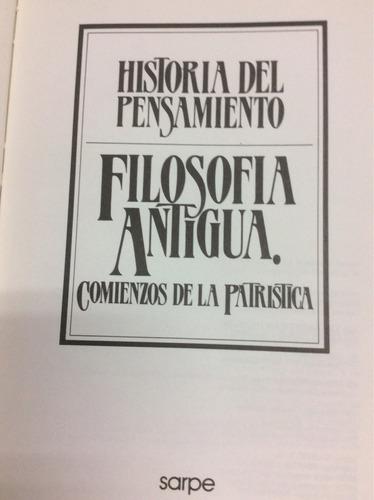 historia del pensamiento. filosofía antigua