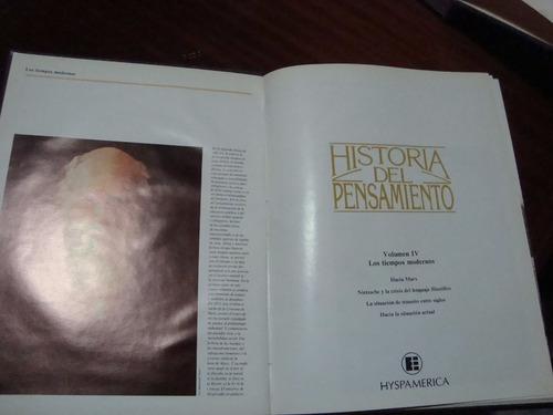 historia del pensamiento. hyspamérica. 4 tomos ilustrados