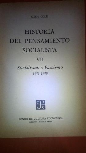 historia del pensamiento socialista,tomo iii/g.d.h. cole