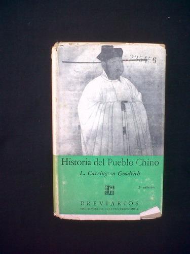 historia del pueblo chino l. carrington goodrich