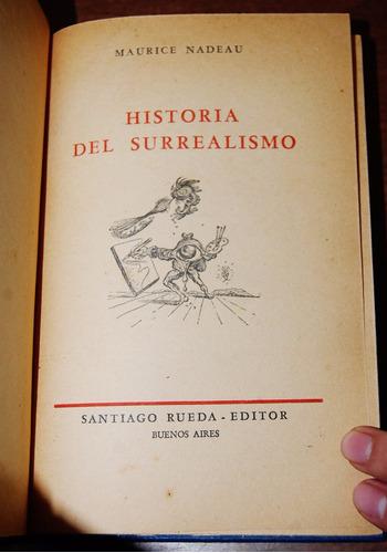 historia del surrealismo - nadeau