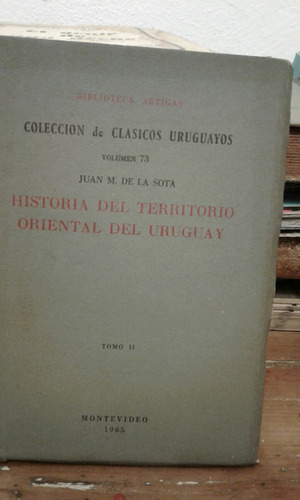 historia del territorio oriental del uruguay juan de la sota