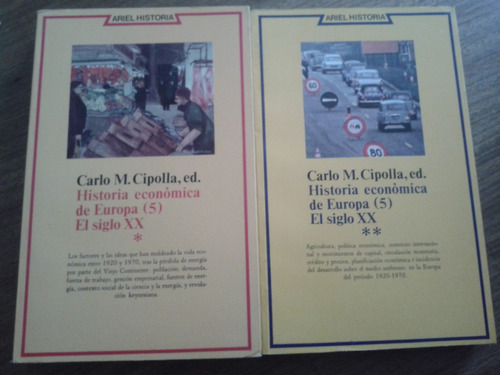 historia económica de europa (9 vols) carlo m. cipolla