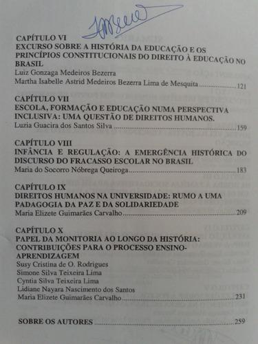 historia educacao direitos humanos. g. carvalho en portugues