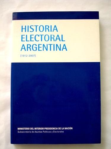 historia electoral argentina (1912-2007) - c08