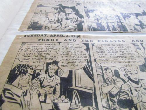 história em quadrinhos milton caniff - 1939