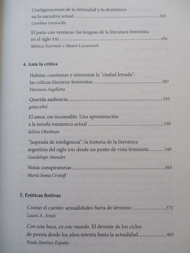 historia feminista de la literatura argentina - tomo 5