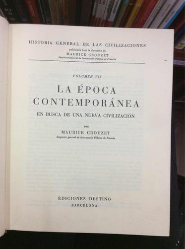 historia general de las civilizaciones enciclopedia 7 tomos