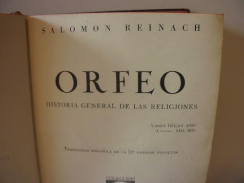 historia general de las religiones - salomon reinach