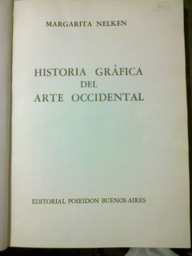 historia grafica del arte occidental