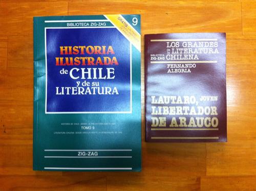 historia ilustrada de chile y literatura fasc 9+ lautaro...