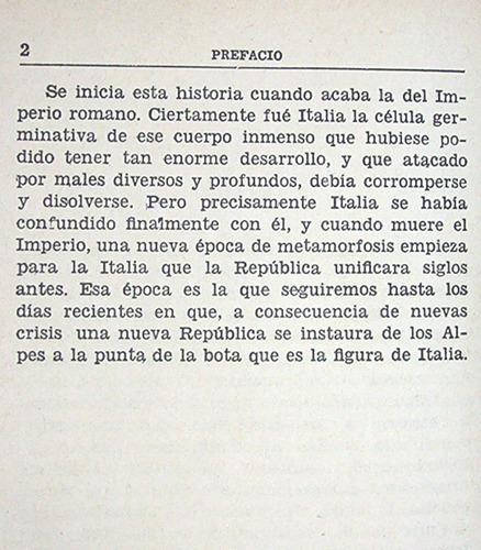 historia italia bourgin / hasta liquidación régimen fascista