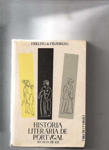 história literária de portvgal sécvlos xii-xx-fidelino de fi